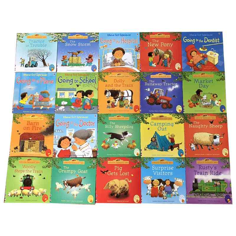 Usborne Picture Books For, Baby Famous Story English Farmyard Tales
