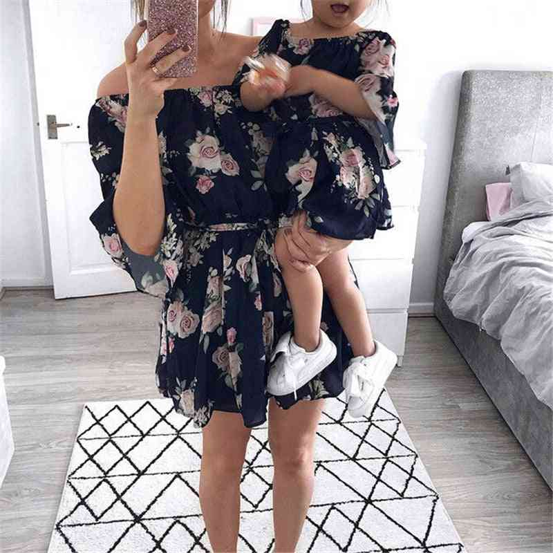 Mother & Daughter Dress, Family Matching Outfits