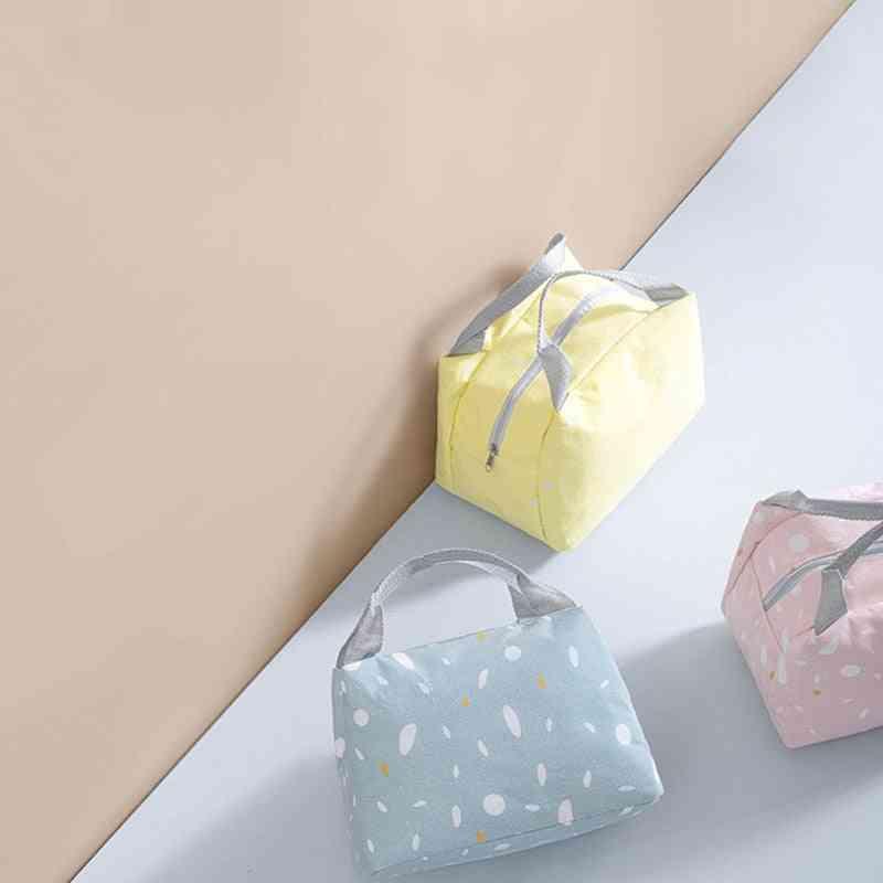 Portable Baby Food Insulation Waterproof Bag Cartoon Baby Feeding Bags Thermal Lunch Bag