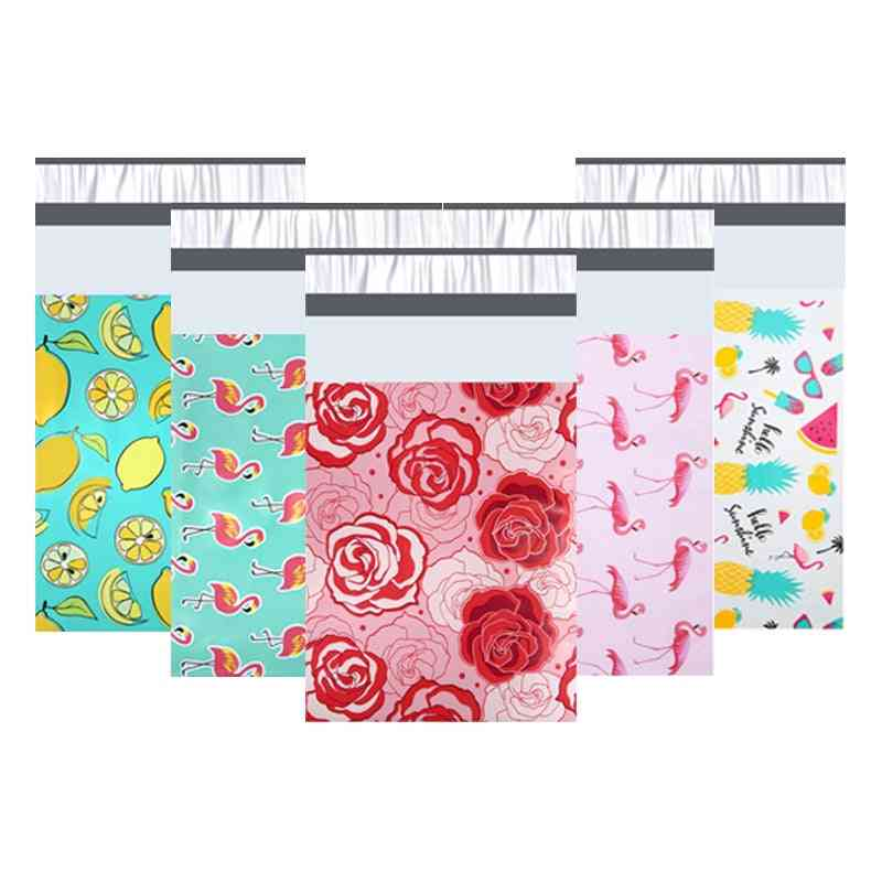 Pattern Printed, Poly Mailers, Self-seal Plastic Envelope Bags