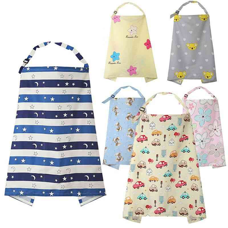 Breathable Cotton Muslin Breastfeeding Cover