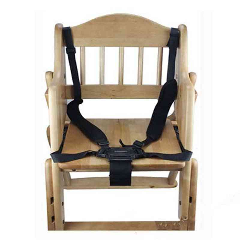 Universal 5 Point Harness-baby Safety Belt For Stroller/high Chair