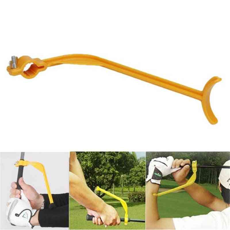 Golf Swing Guide Training Aid, Trainer For Arm Corrector Control Gesture Wrist Practice Guide