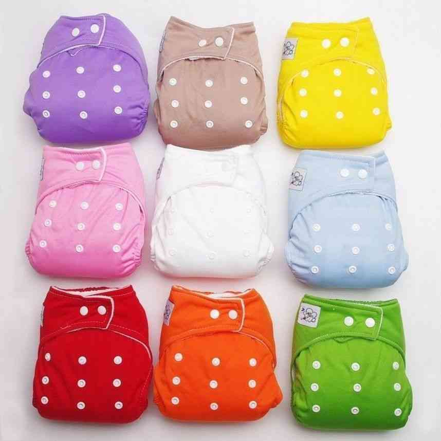 Adjustable Reusable Baby Washable Cloth Diaper Nappies