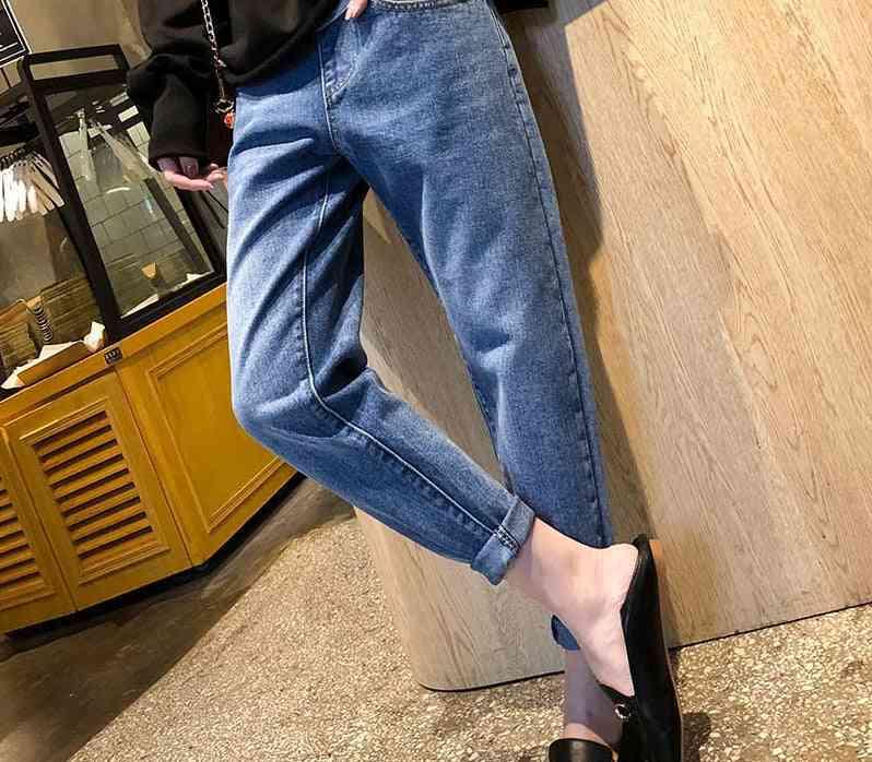 Maternity Pants Clothes For Pregnant Women Plus Size Adjustable Waist Denim Belly Jeans Trousers