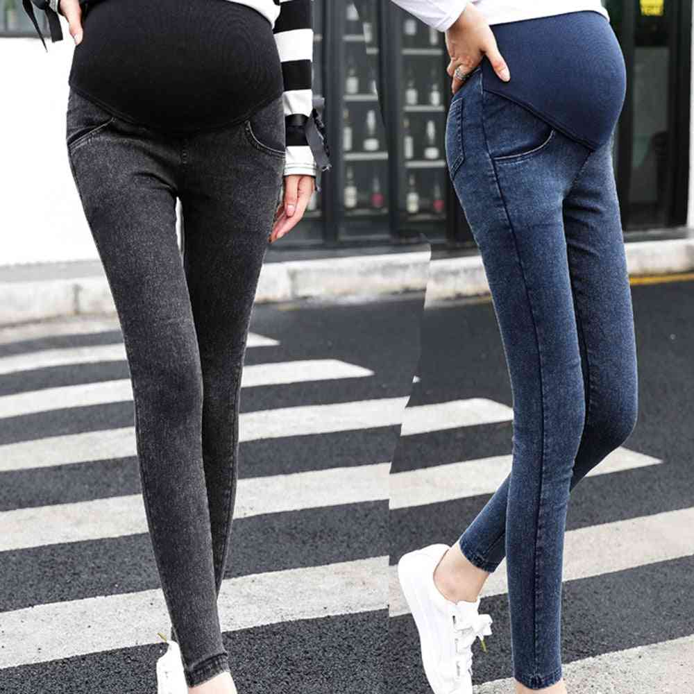 Maternity Clothes, Skinny Trousers / Jeans Over The Pants