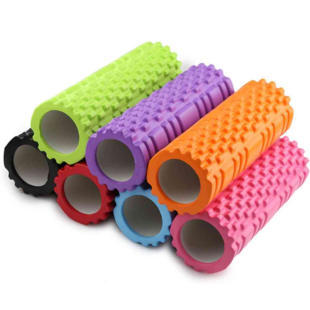 Yoga Column Fitness Pilates Foam Roller Blocks Train Gym Massage Grid Trigger Point Therapy