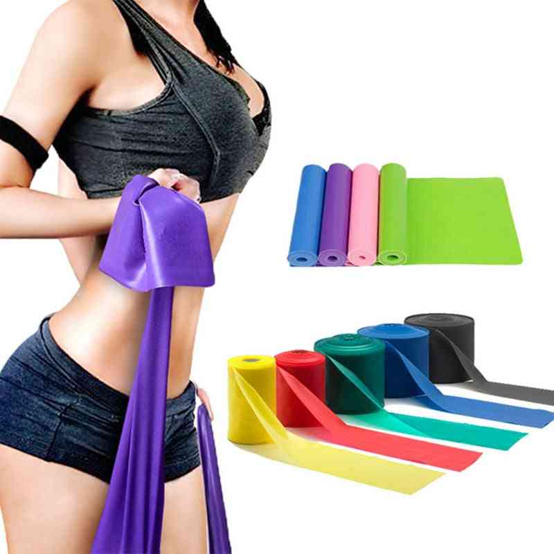 Stretching Exercise Fitness & Elastic Bands Set, Body Exercising Straps Workout Stretchs Bands