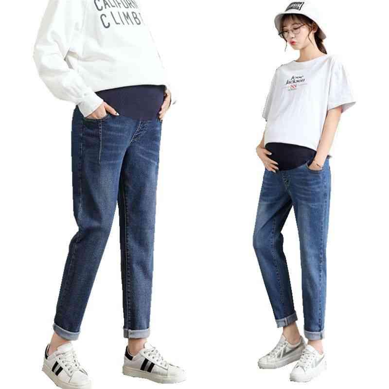 Women Large Size Jeans Pants, Maternity Trousers
