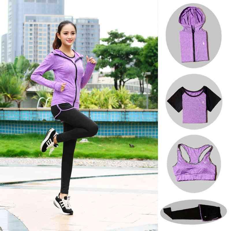 Women Running Sports Fitness Comfortable Jogging Suit