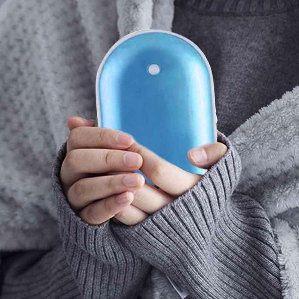 Winter Mini Heating Pad Usb Rechargeable Handy Warmer Heater Pocket
