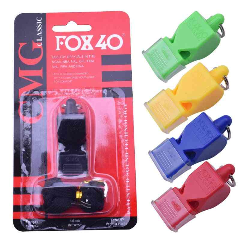 Plastic Whistle For Sports Referee