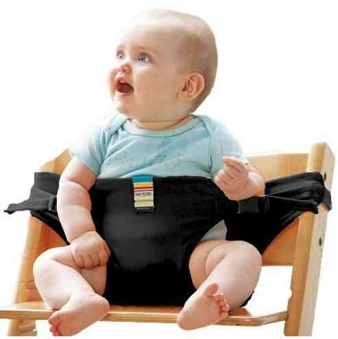 Portable Dining/lunch Chair Safety Seat Belt/harness