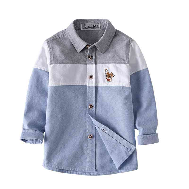Full Sleeve Embroidery Pattern Shirt