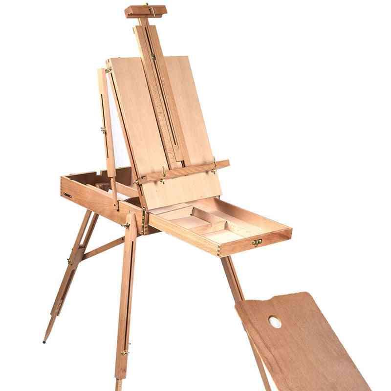 Portable Folding  Wooden Easel
