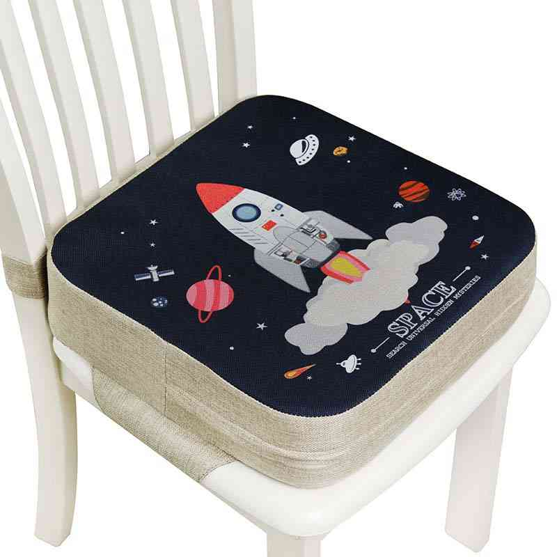 Adjustable Removable Highchair Chair Booster Cushion Seat