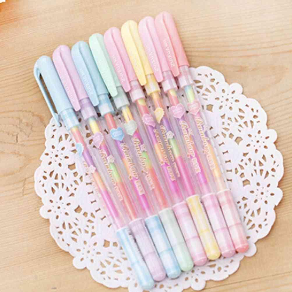 Paper Fluorescent Paint Pens, Pencils Writing Markers Pen