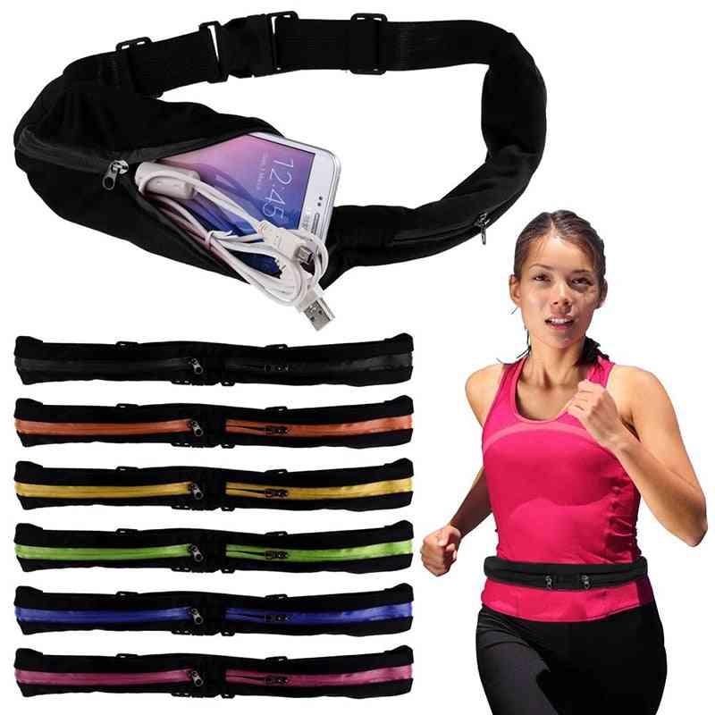 Sports Waist Bag With Adjustable Belt