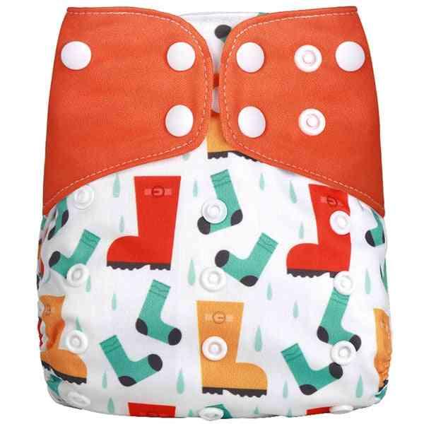 Adjustable Baby Cloth Washable Waterproof Reusable Nappies