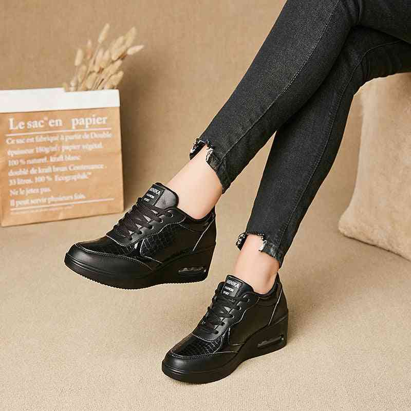 Women Fitness Toning Lace Up Shoes