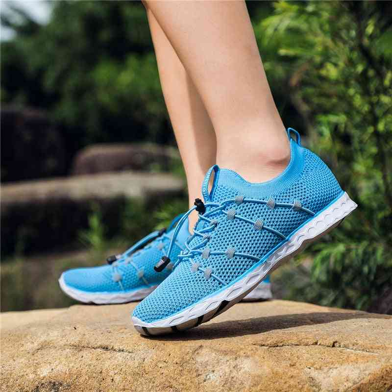 Women Fitness Toning Light Balanced Rubber Non-slip Shoes