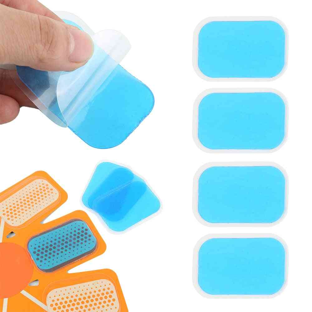 Muscle Stimulator Replacement Gel Stickers - High Silicone Hydrogel Hydrogel Pads Abdominal Trainer