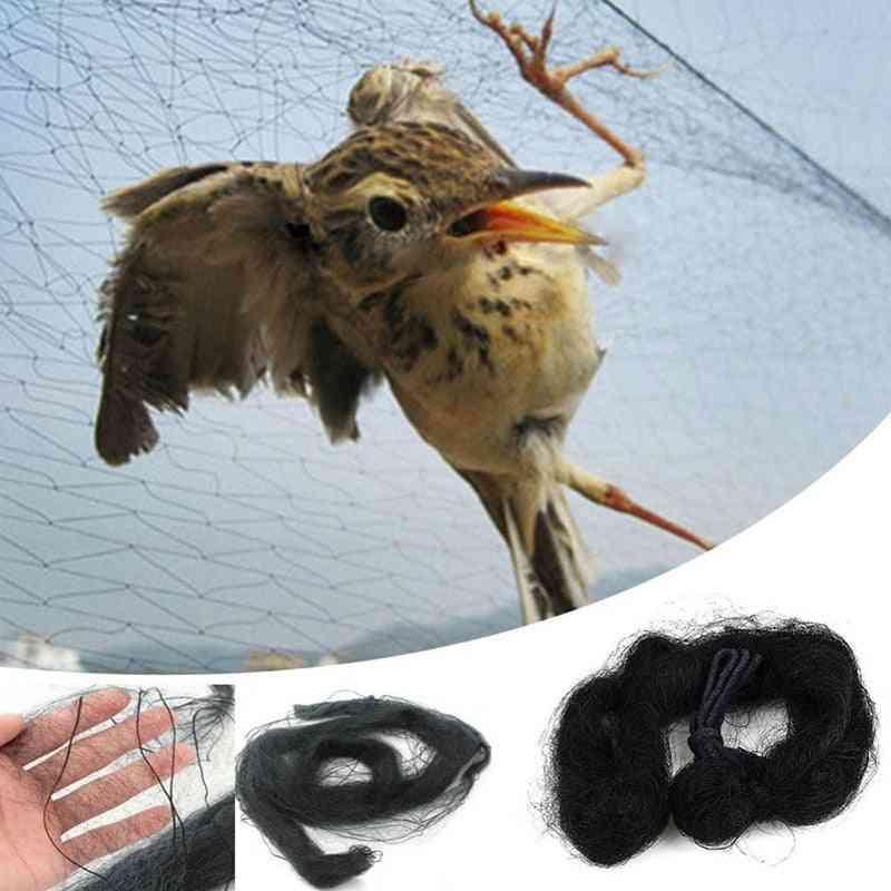 Bird Catcher Net - Traps, Crops, Fruit, Tree Vegetables & Flower Garden Mesh Protect Pest Control Nets
