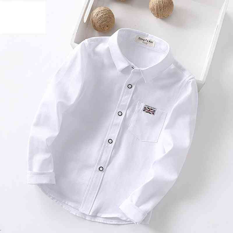 Oxford Textile Cotton, British Style Casual Shirt