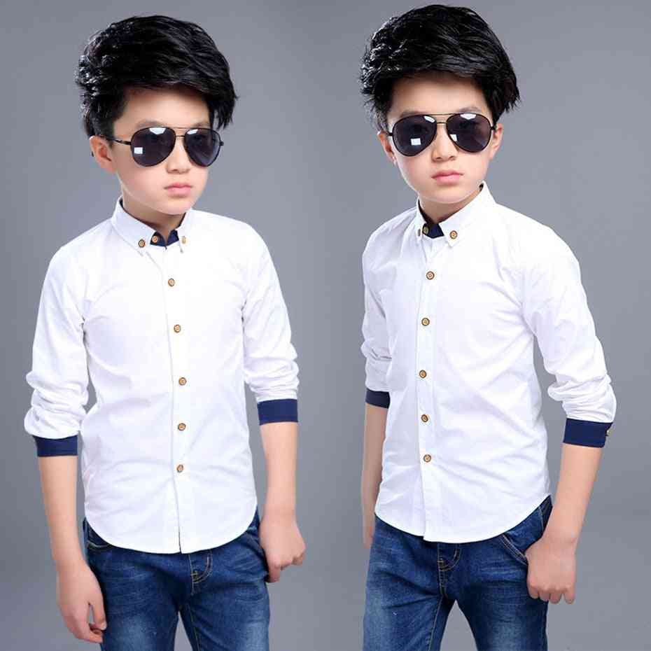 Turn Down Collar, Casual Cotton Shirts For