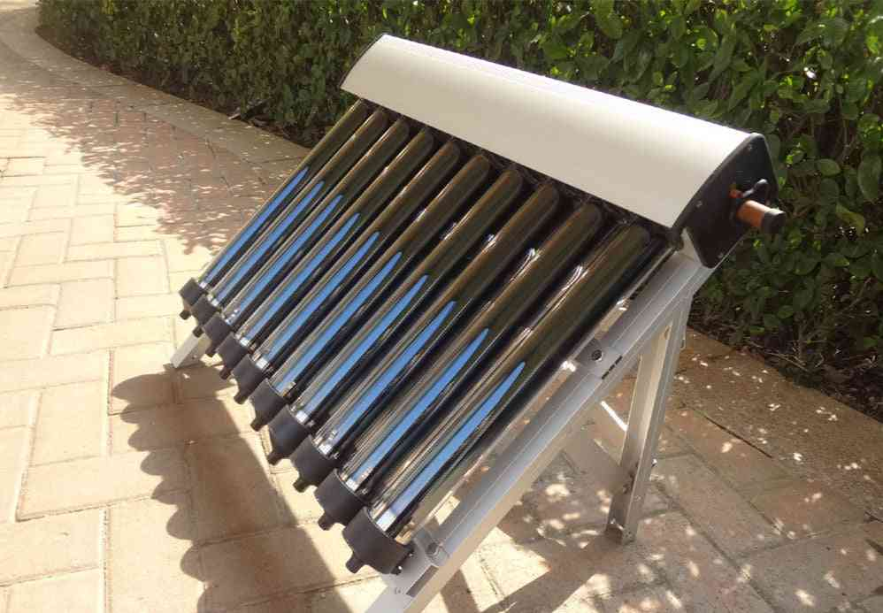 Set Of Solar Water Heater Evacuated Tubes With Heat Pipe