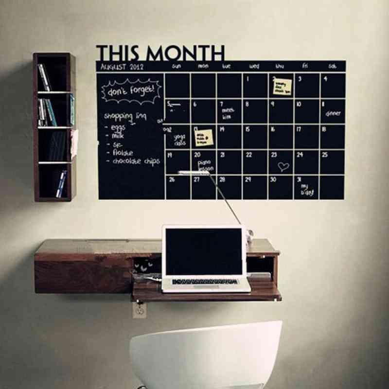 Diy Wall Blackboard Sticker