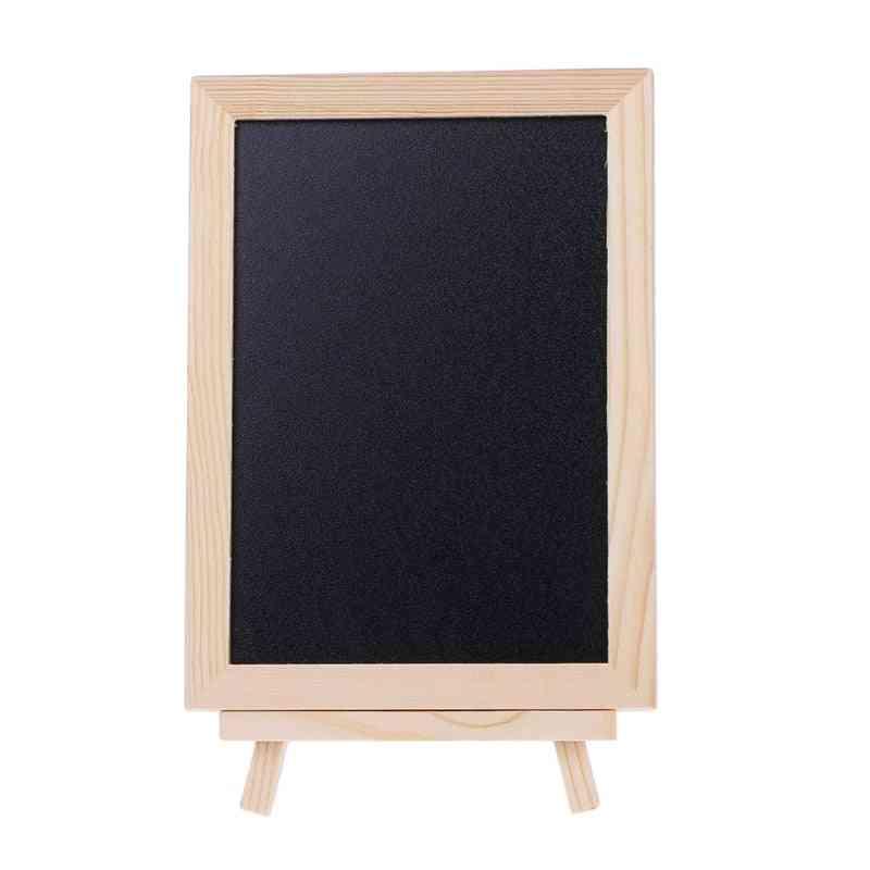 Desktop Message Double Sided Blackboard