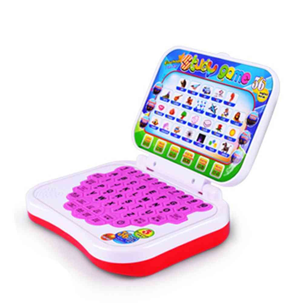Baby Kids Laptop Toy - Early Interactive Machine