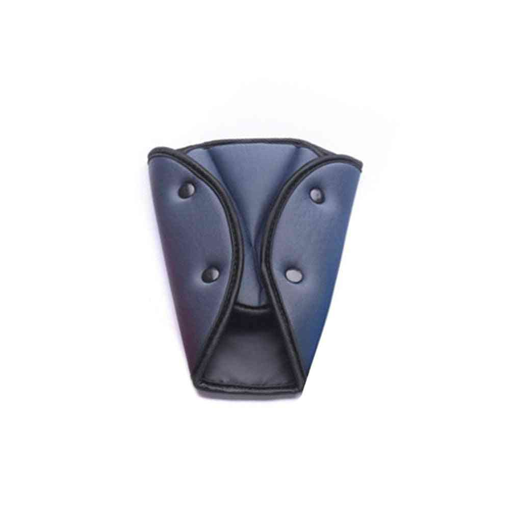 Child Car Seat Belt Triangle Safety Clip Buckle, Universal Car Safety Belt Holder