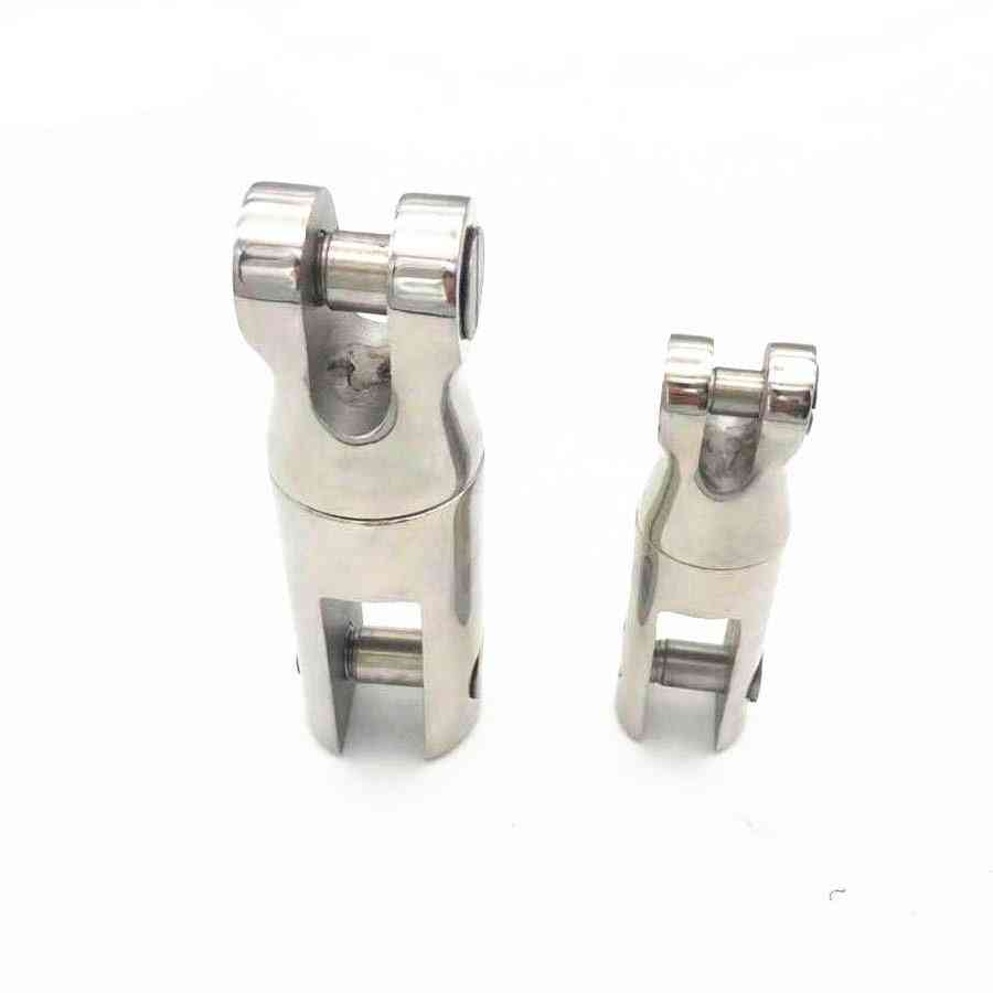 Stainless Steel, 360-degree, Swivel Anchor Chain Connector For Marine Boat
