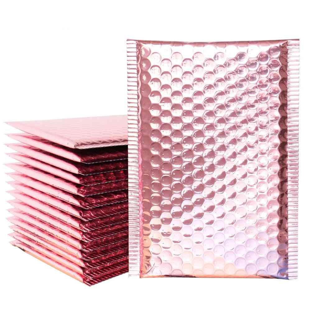 Rose Gold Bubble Envelop/foil Mailer For Packaging & Wedding Favor Bag