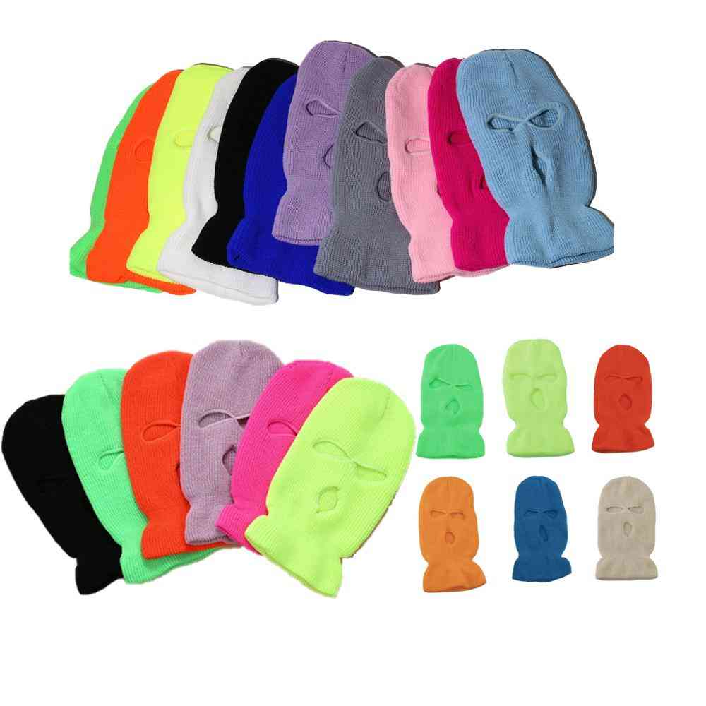 Winter Cover Neon Mask Green Halloween Cap For Party Motorcycle Bicycle Ski Cycling Balaclava Ski Mask