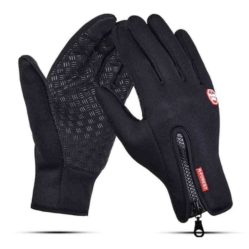Windproof Touch Screen Men-women Thermal Sport Gloves