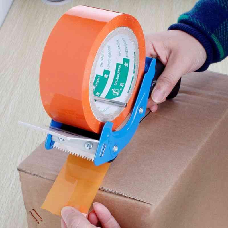 Portable Sealing Tape Dispenser, Packaging Machine Cutter Handheld Packer Holder