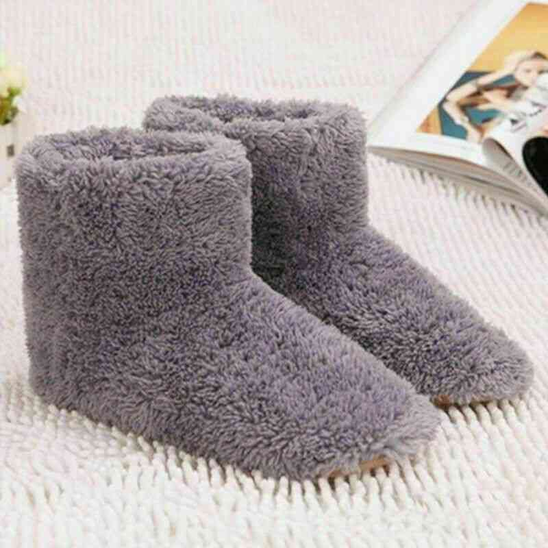 Winter Washable Usb Heating Shoes