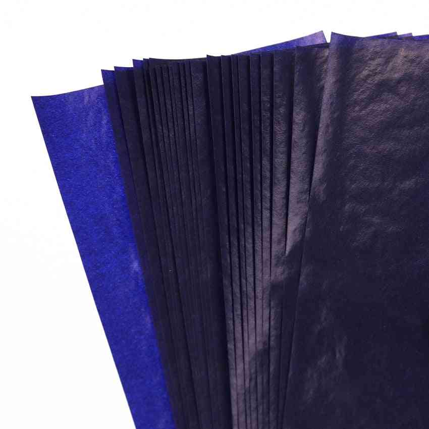 Double-sided 48k Thin Kind Carbon Paper Finance Office Stationery