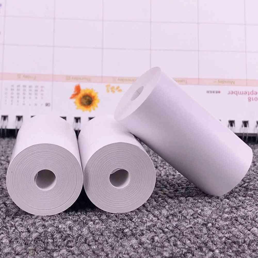 5 Rolls Printable Sticker Paper