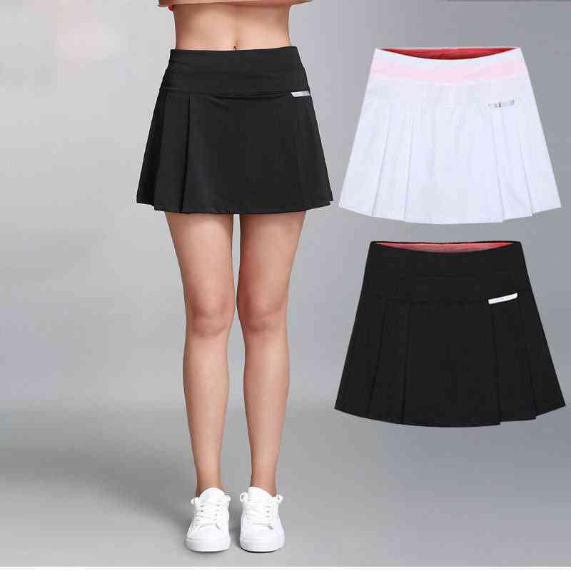 Women Tennis Skirt, Badminton Shorts Anti-exposure Fitness Workout