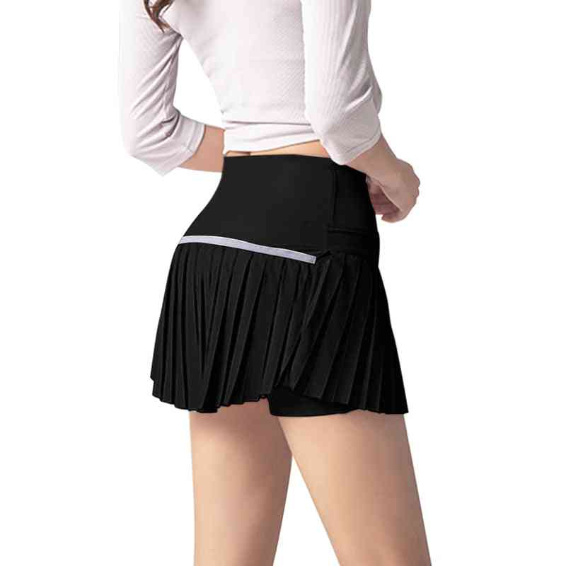 Women Athletic Sport Skirt With Shorts