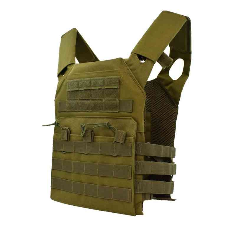Molle Plate Carrier Vest- Tactical Hunting Body Armor