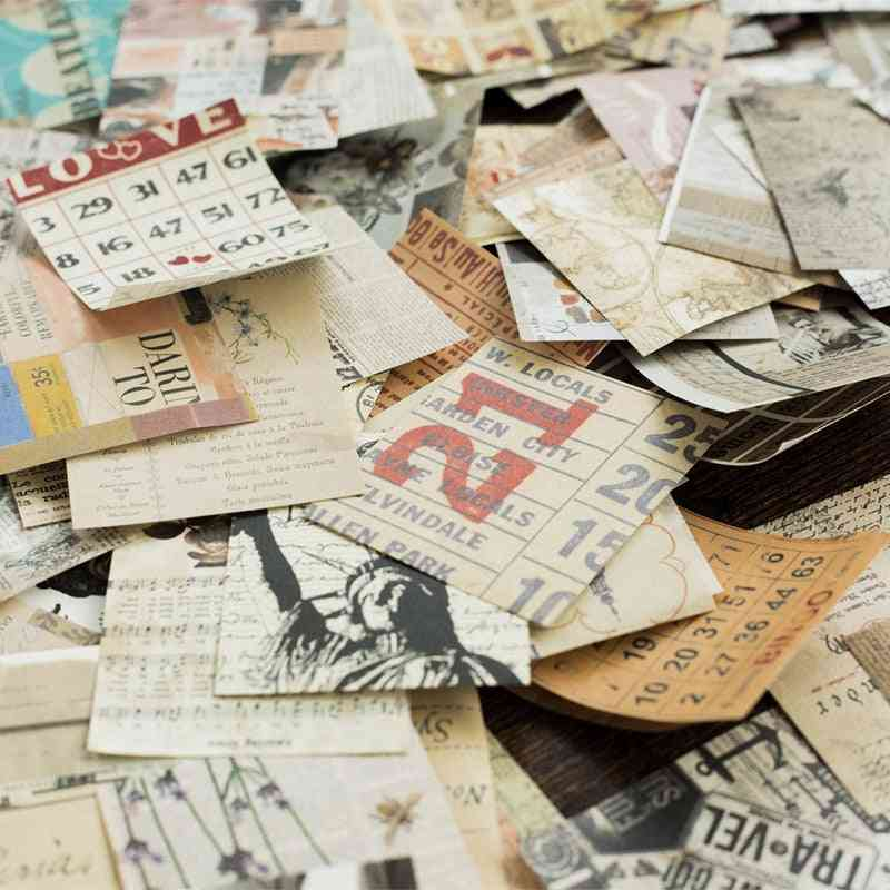 Retro Material Paper
