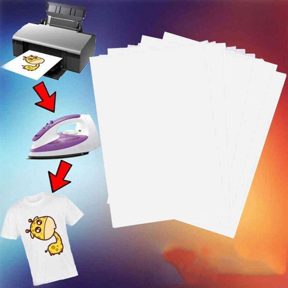 Iron On Heat-press Light Fabrics Inkjet Printing Paper