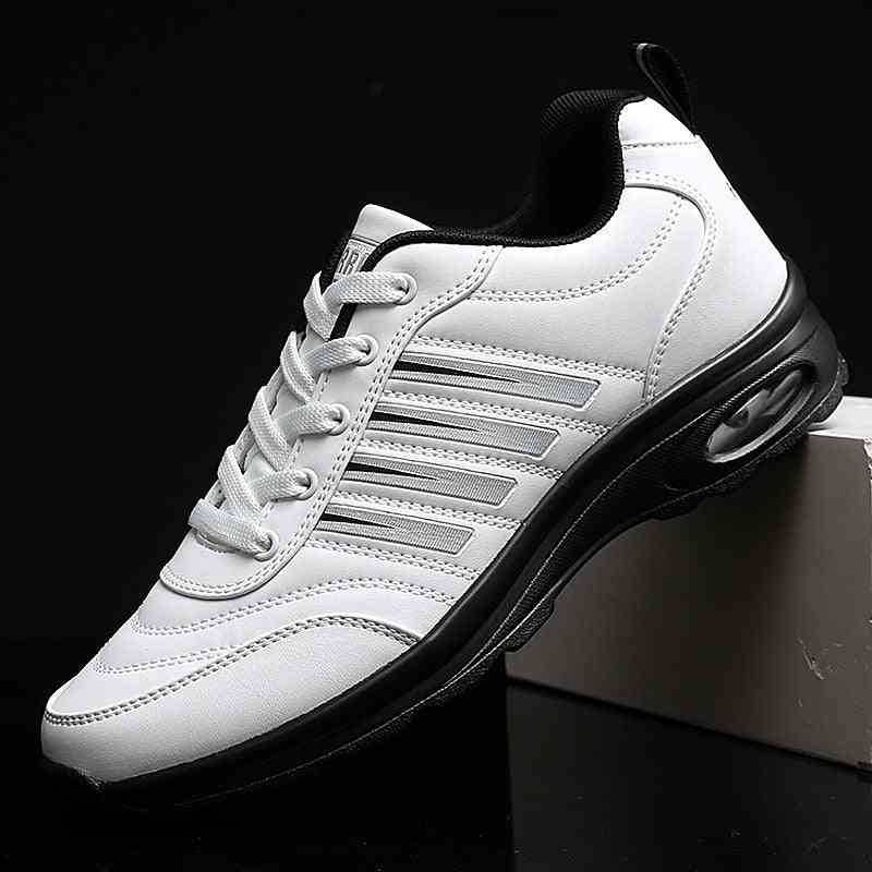 Professional Leather Rubber Sport Walking Sneakers