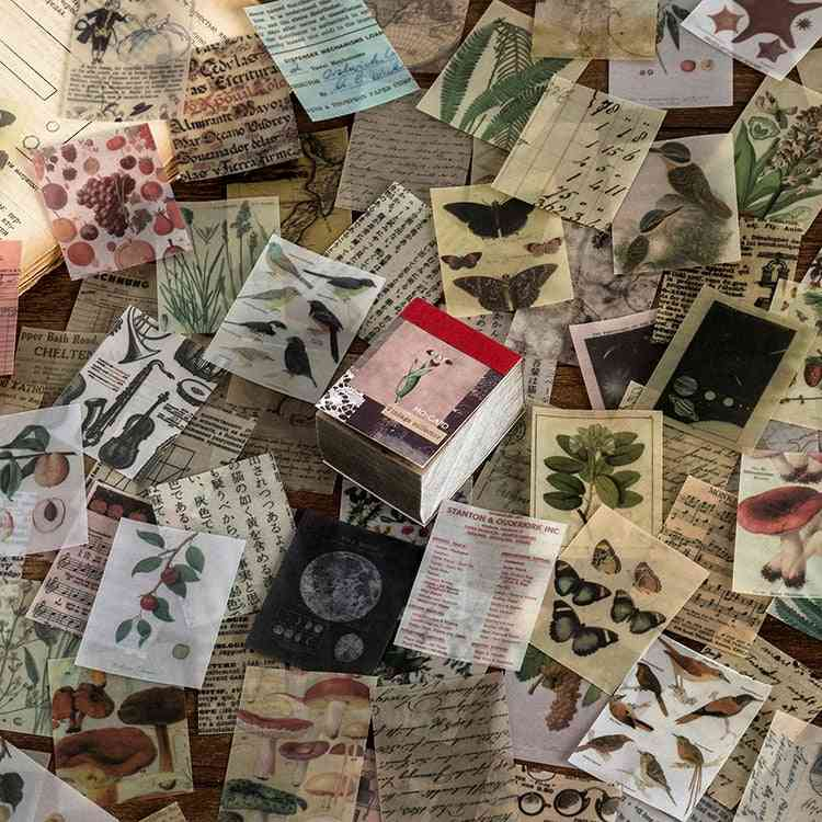 Fantasy Vintage Mini Scrapbooking/card Making/journaling Project Diy Kraft Retro Writing Paper Card