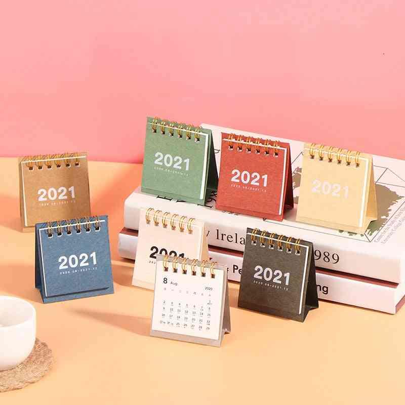 Mini Desk Calendar, Creative Desktop Ornaments, Portable Work Note